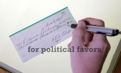 Political Favors Illustration