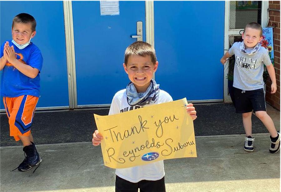 Reynolds Subaru donates to Boys and Girls Club_2