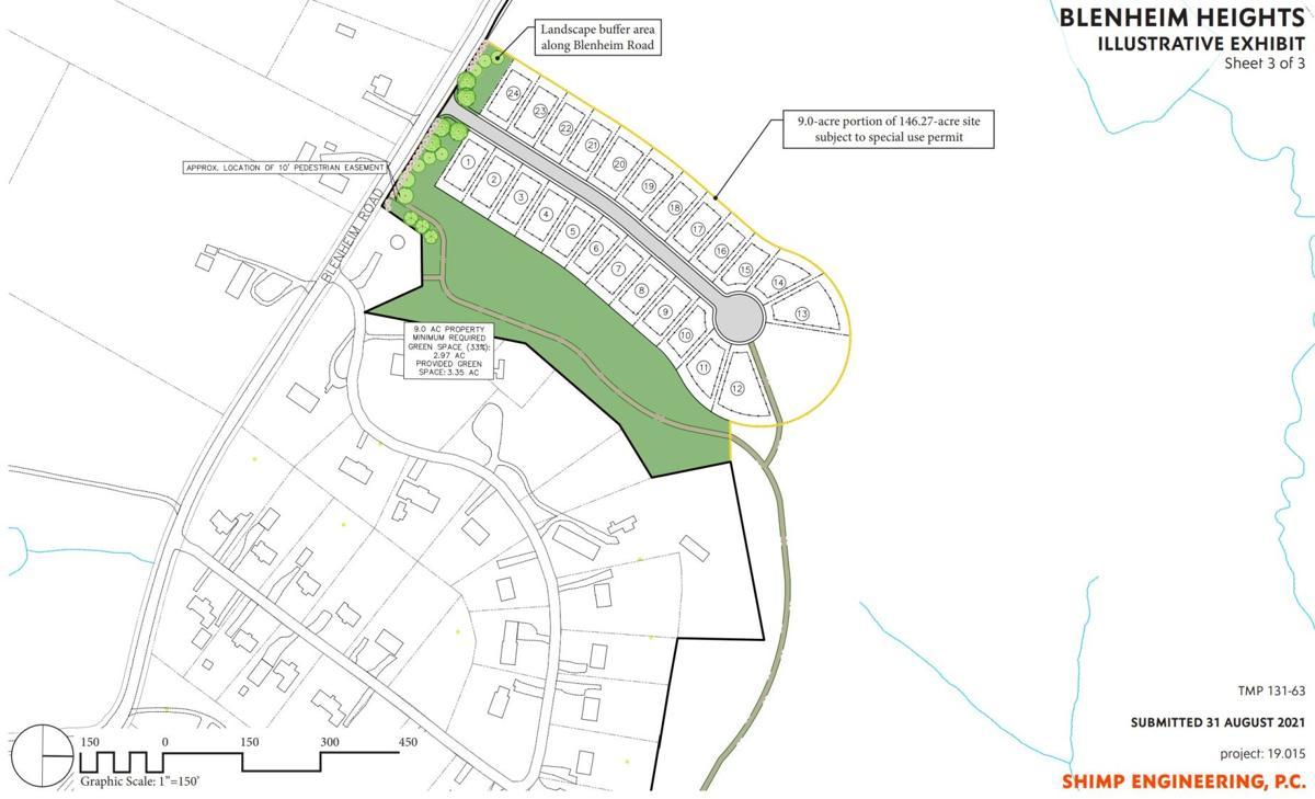 Blenheim Road development concept plan