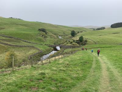 Walking across England