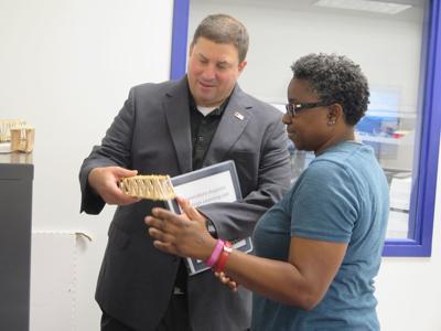 Virginia Superintendent of Schools visits Waynesboro