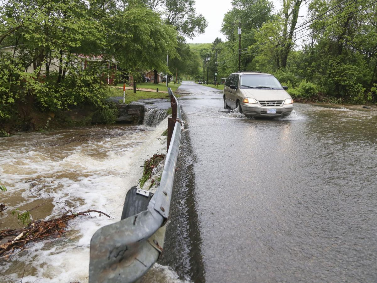 Heavy rain brings high water to Waynesboro
