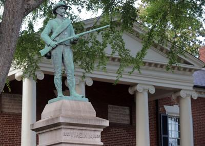 Albemarle Confederate soldier statue