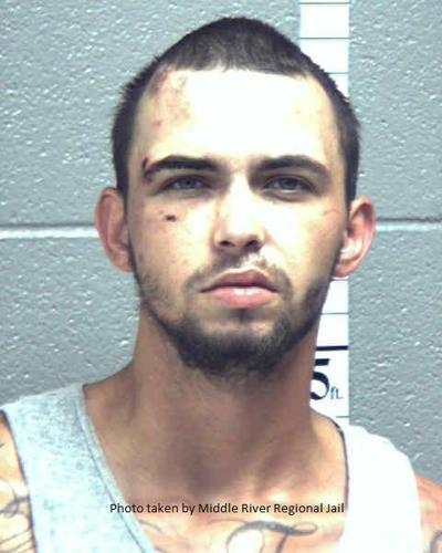Staunton man arrested in pursuit, crash, assault on deputy