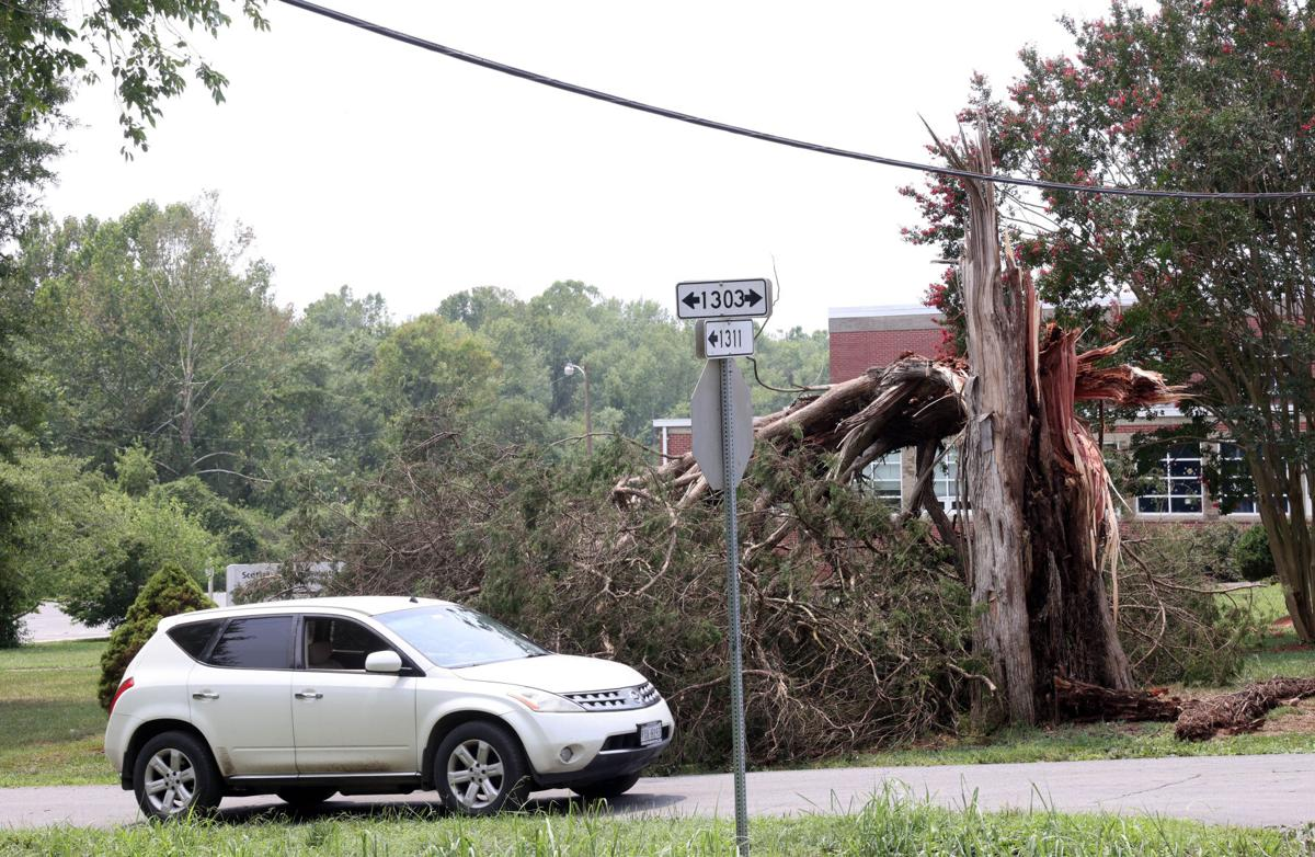 Scottsville storm