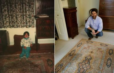 Frank S. Eways; A hand-woven American Dream 'A rug can make a house a home'