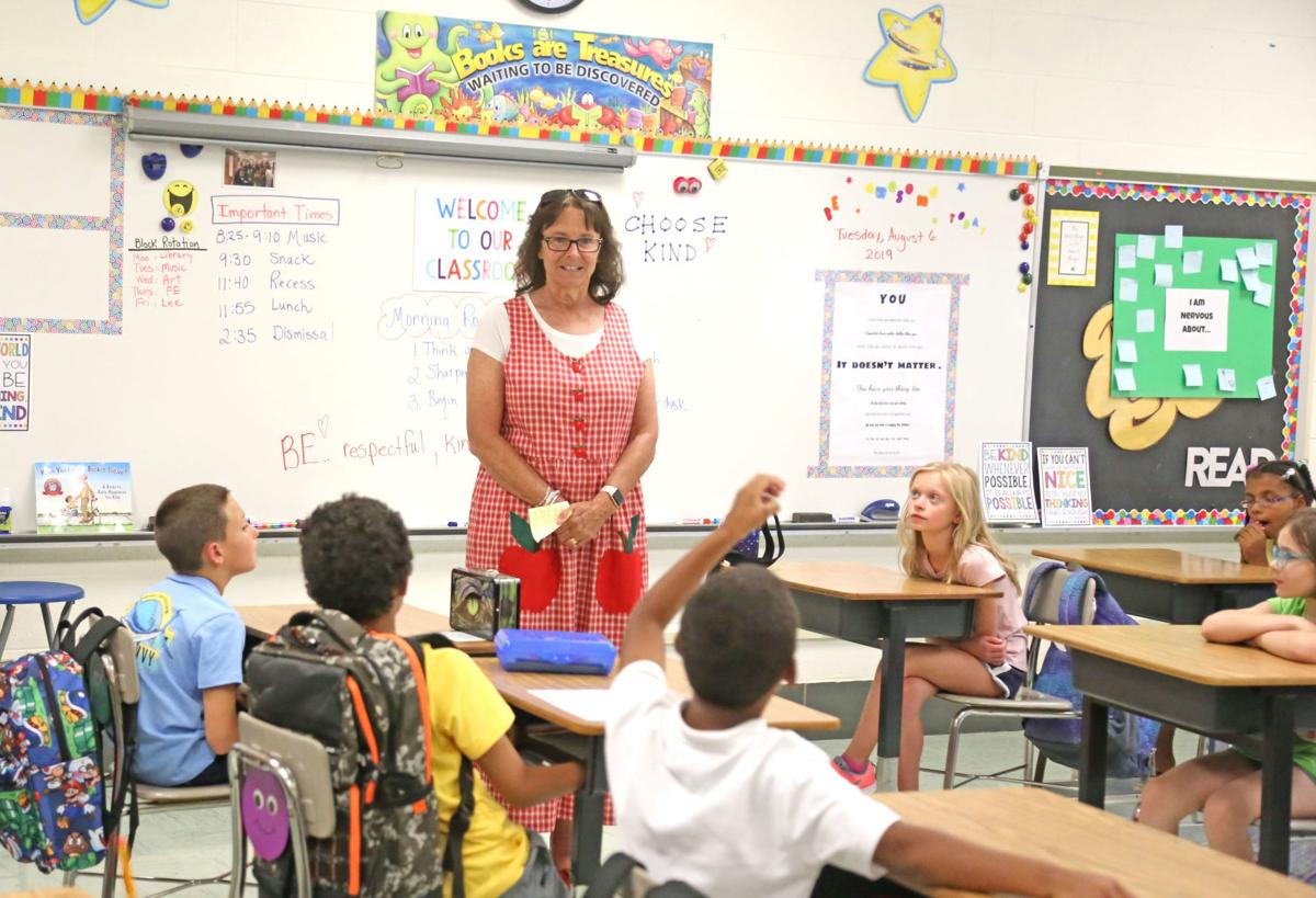Nervous and excited: area schools back in session