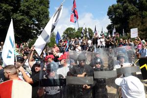 In filing, U.S. attorney rejects First Amendment claims in rally rioting case