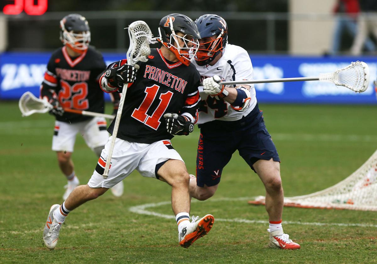 Virginia men's lacrosse beats Princeton at home 18-15 ...