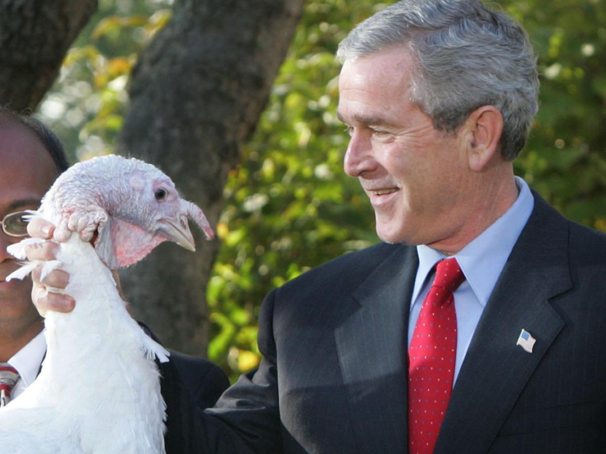 Photos: The presidential turkey pardon through the years