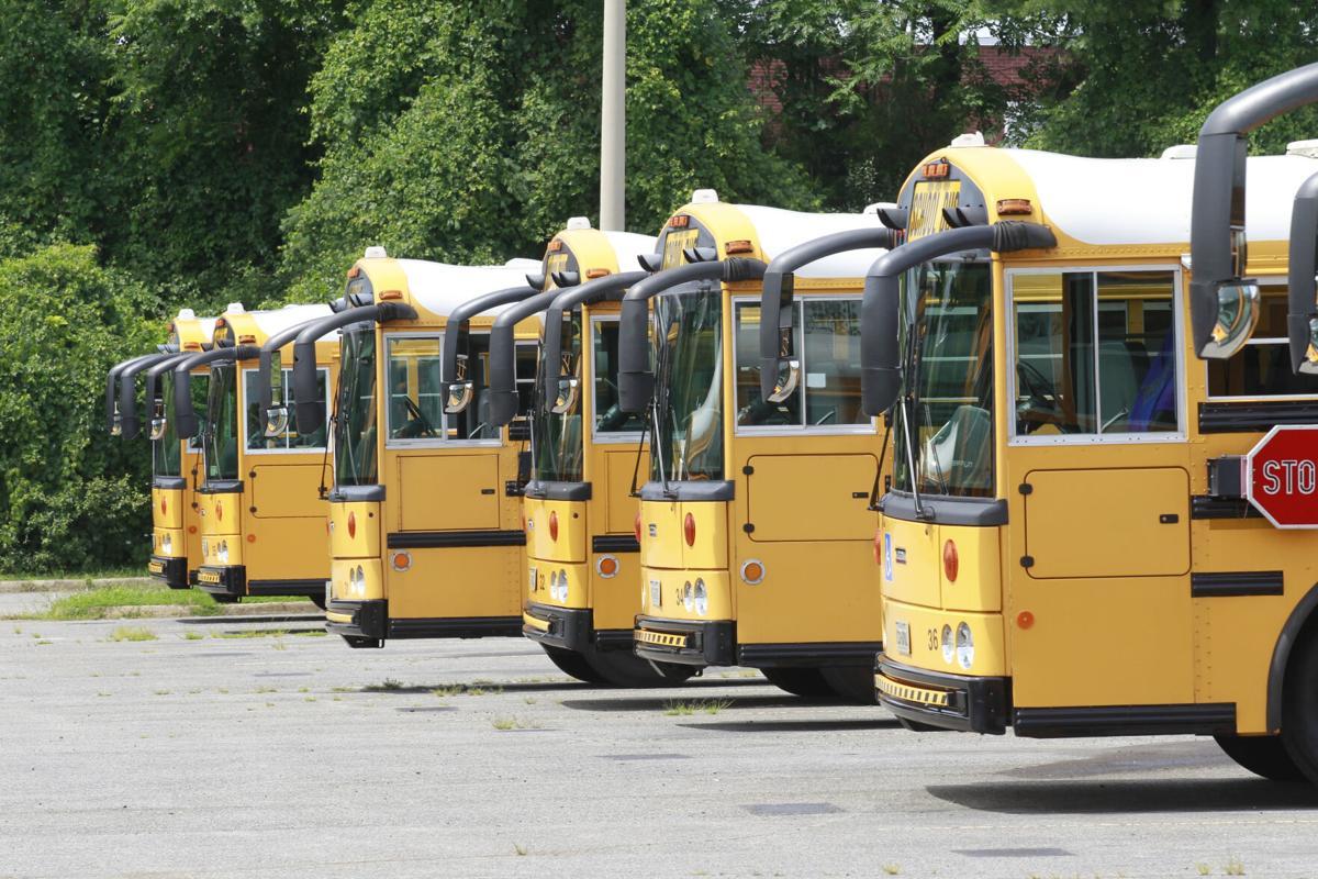 Charlottesville school buses
