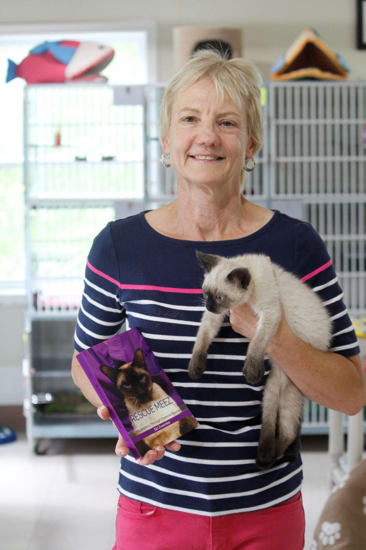 Cat Rescuer Writes Book