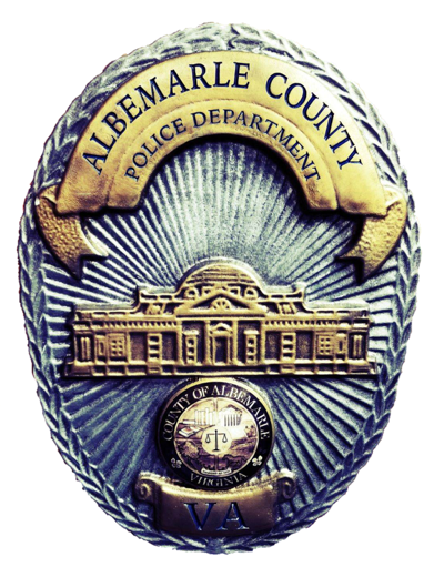 Albemarle County Police Department badge