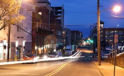 Water Street lighting