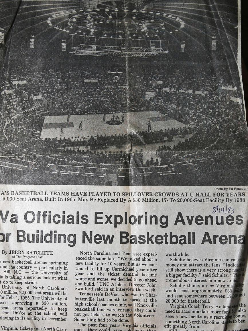 Talk of closing U-Hall started decades ago
