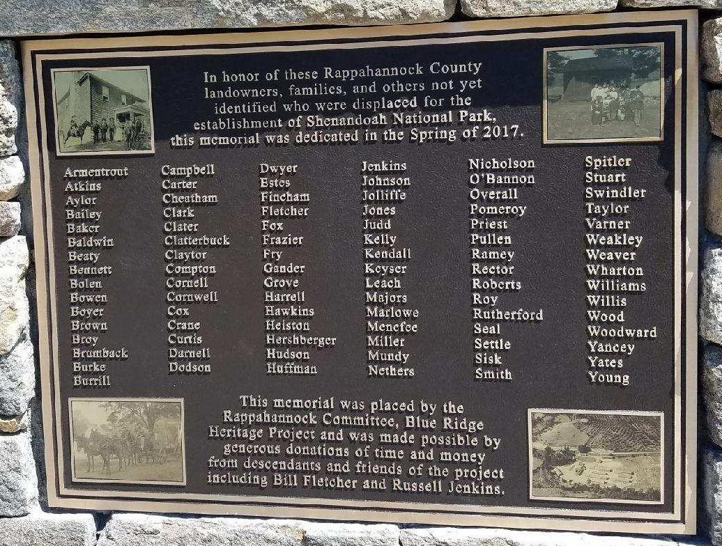 Shenandoah names