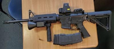 Assault-style rifle similar to firearm stolen from Petersburg police car
