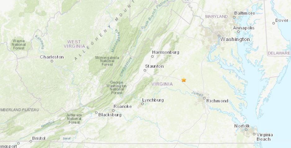 Louisa earthquake