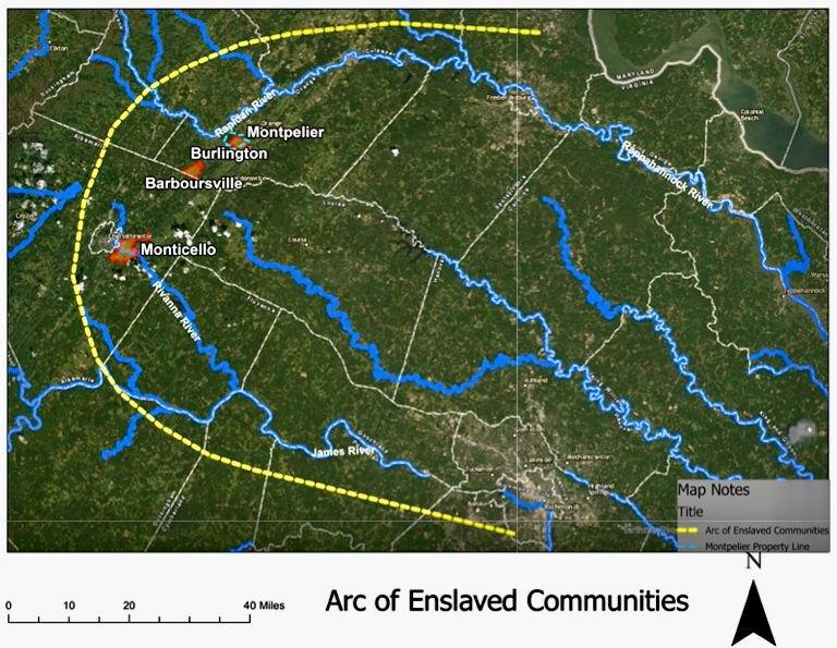 Arc of Enslaved Communities