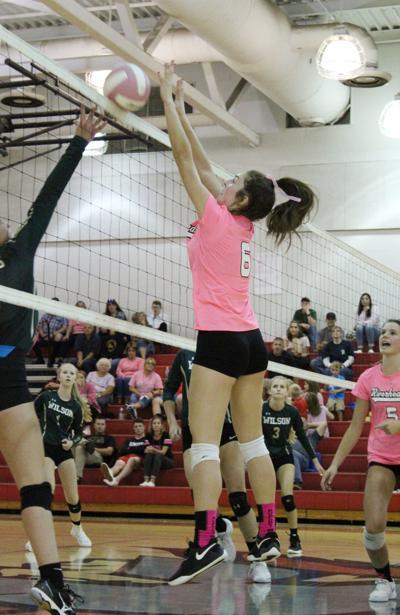 Riverheads vs Wilson volleyball