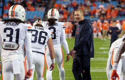 Virginia football team ranked in final coaches poll for first time since 2004