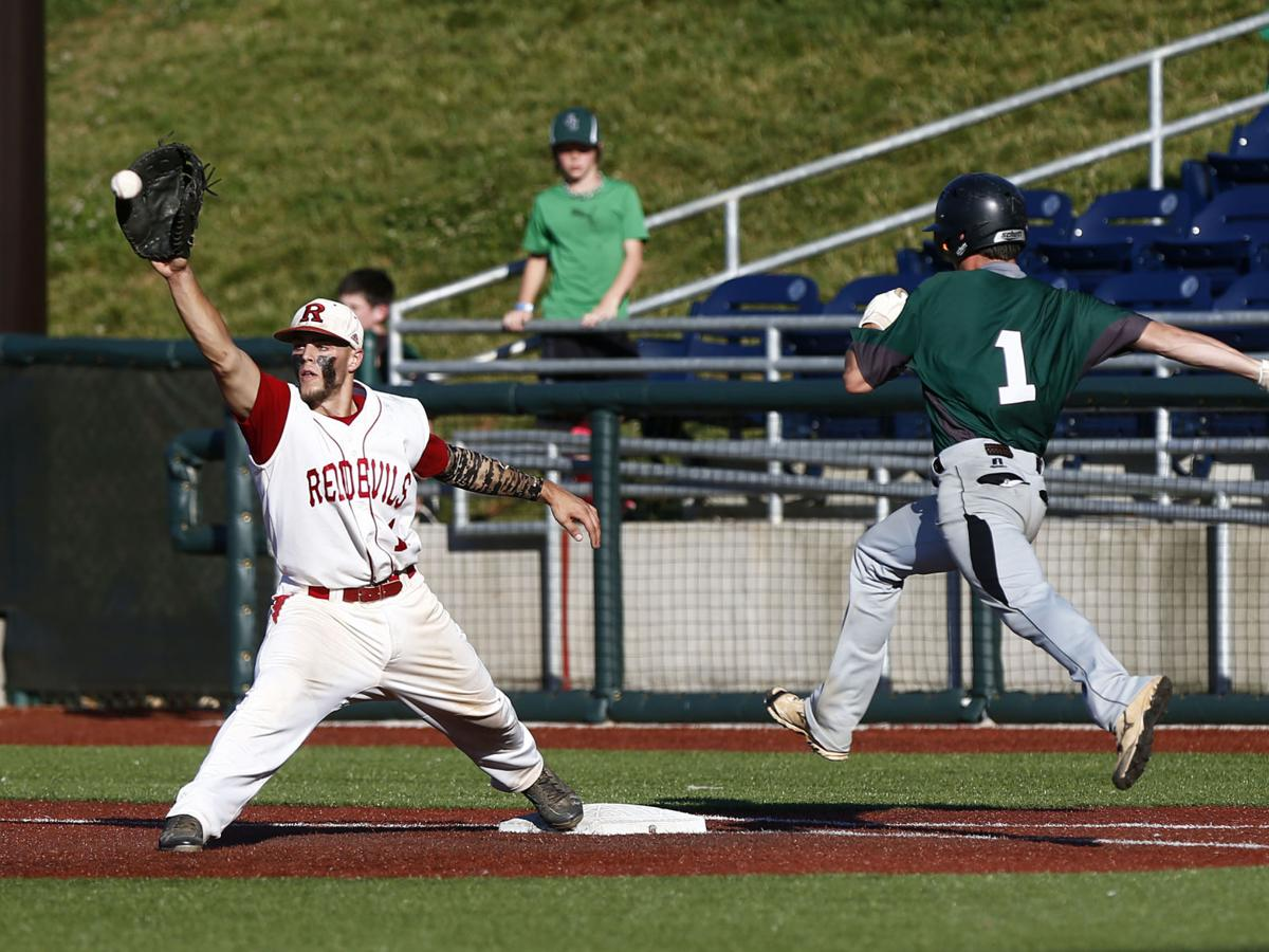 Scenes from the VHSL 3A Baseball Championship