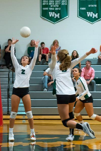 William Monroe volleyball