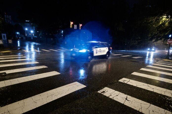 Police vehicle