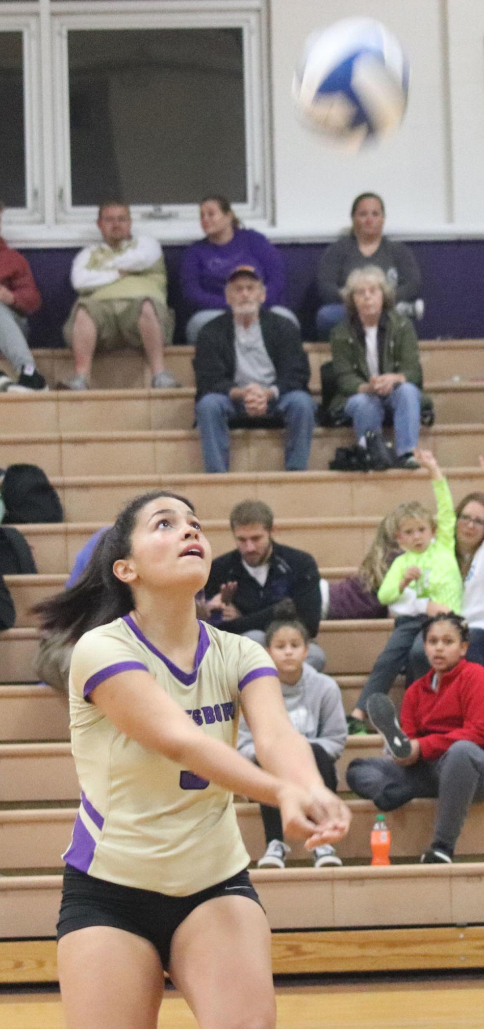 Rockbridge at Waynesboro volleyball