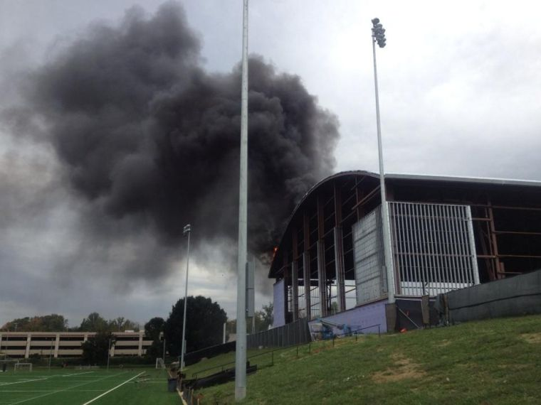 Fire Erupts At New Uva Football Practice Center News