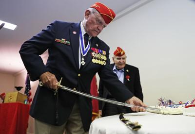 veterans gather to celebrate marine corps birthday local news