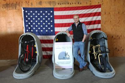 Company looks to take bike storage capsules national