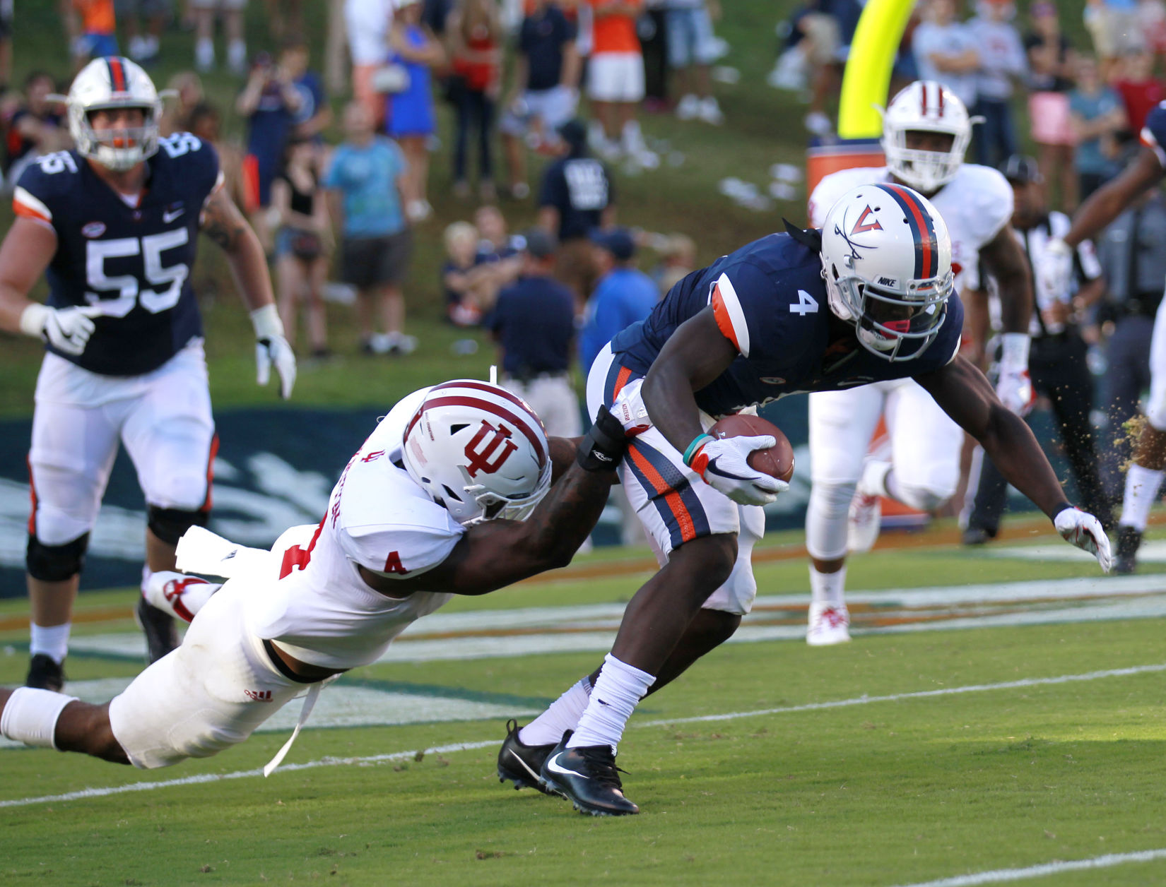 IN cruises past UVA, 34-17