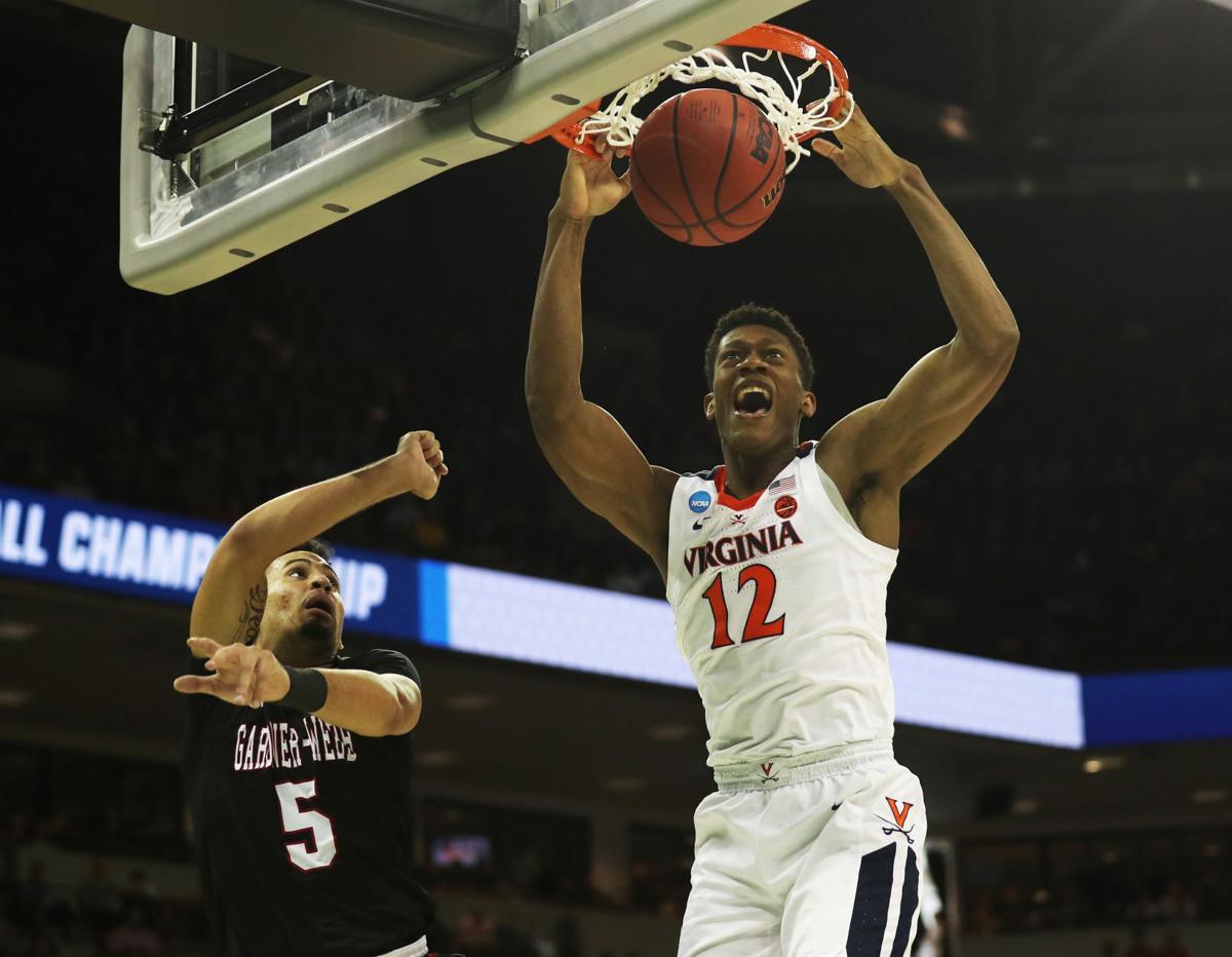Virginia basketball team overcomes slow start to top Gardner-Webb in NCAA  Tournament 82b4e35af