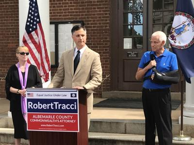 Tracci announces re-election bid