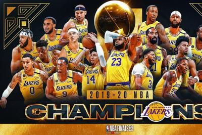 Column: Strength and determination leads Lakers to 17th NBA Championship