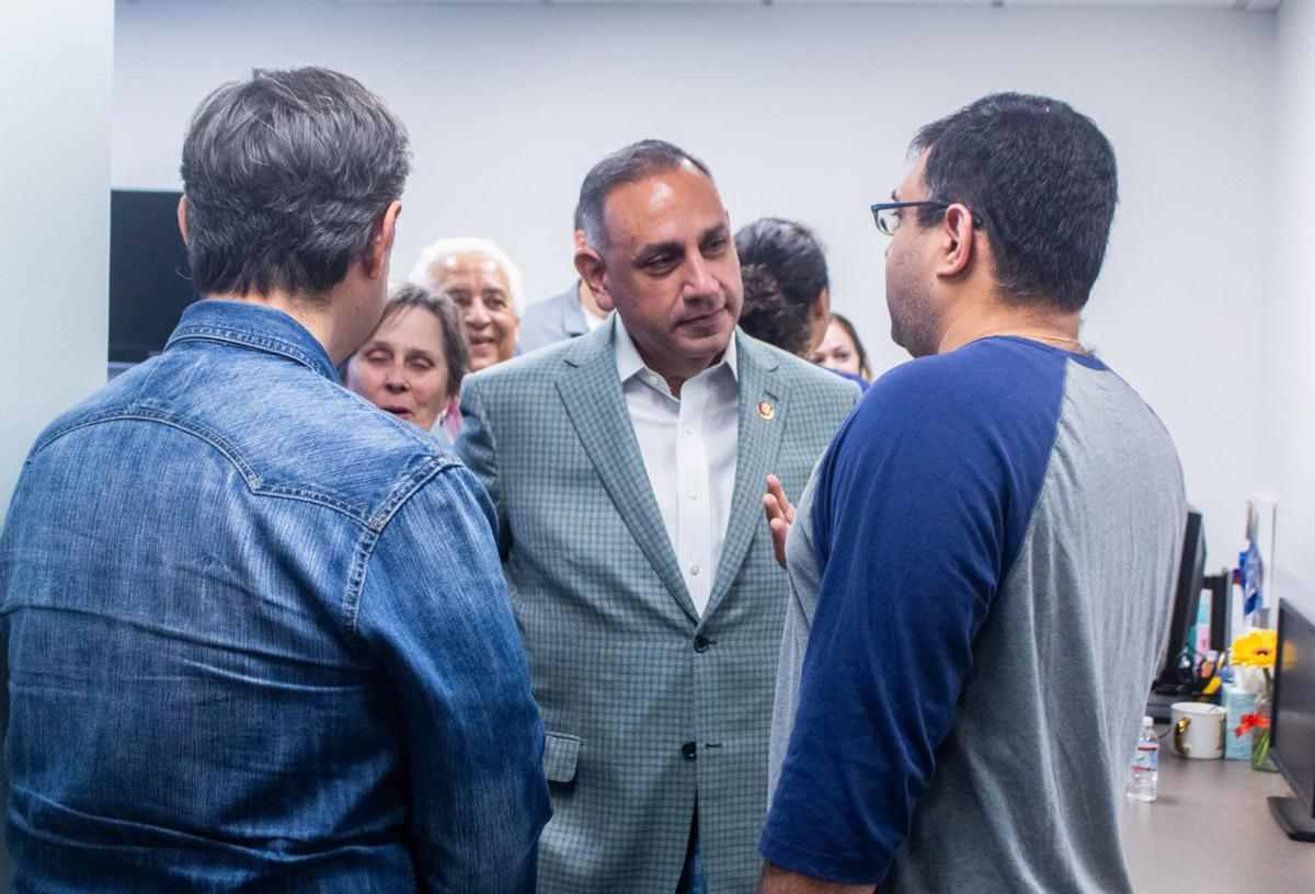 Representative Gil Cisneros hosts open house at Fullerton home office