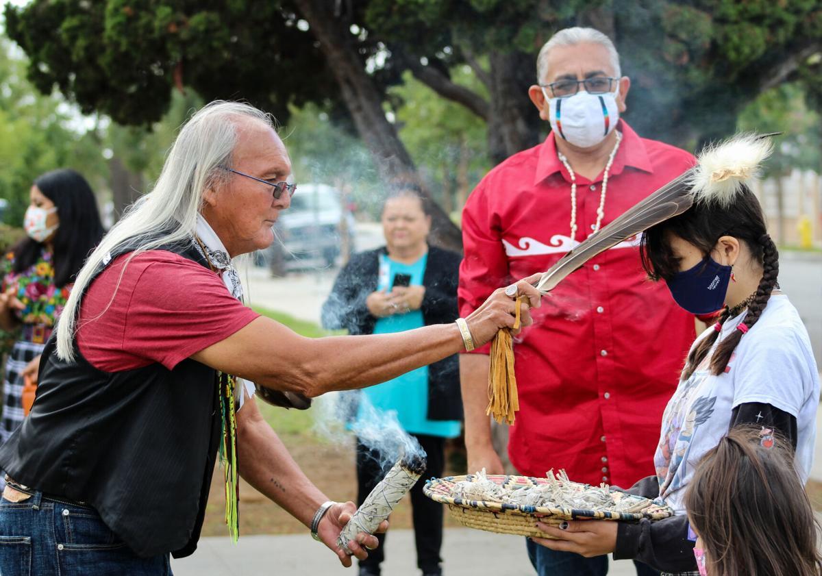Indigenous People's Day ceremony