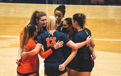 womens volleyball v. Denver