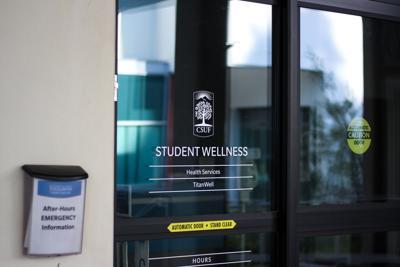 Student Wellness Door