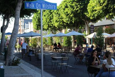 """Walk On Wilshire"" Photo"