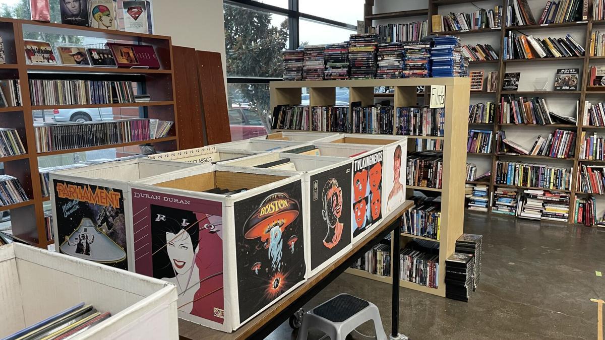 Comic book stores: Half-Off Books Records Films