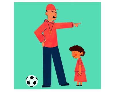 Sports culture illustration