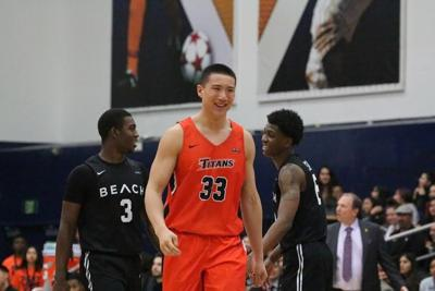From International athlete to a California star, Johnny Wang shines at CSUF