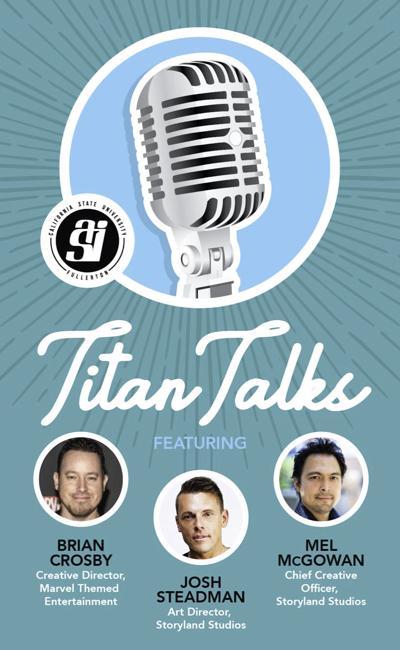 Titan Talks Poster