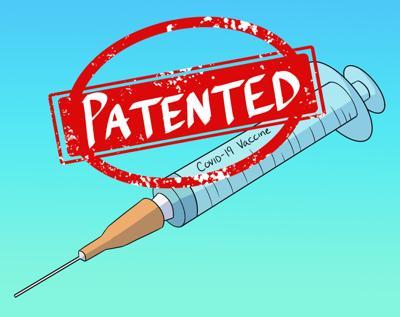 Patent vaccine illustration