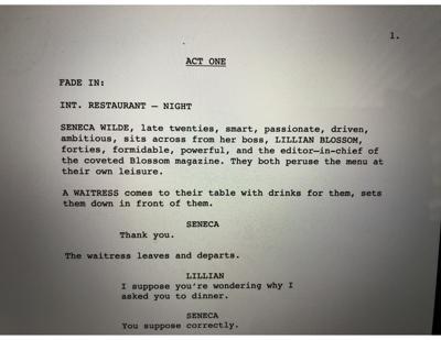 Screenwriting Column