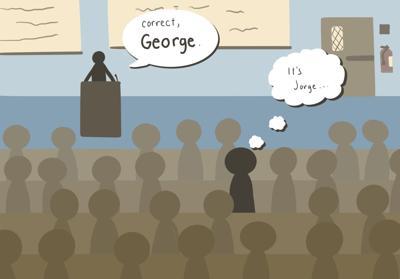 mispronouncing names illustration