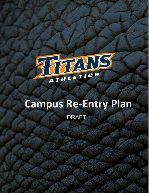 CSUF Athletic Plan