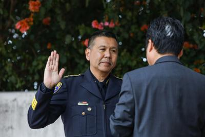Raymund Aguirre swearing in